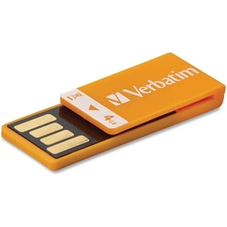 Verbatim 4GB Clip-it 97551 Flash Drive