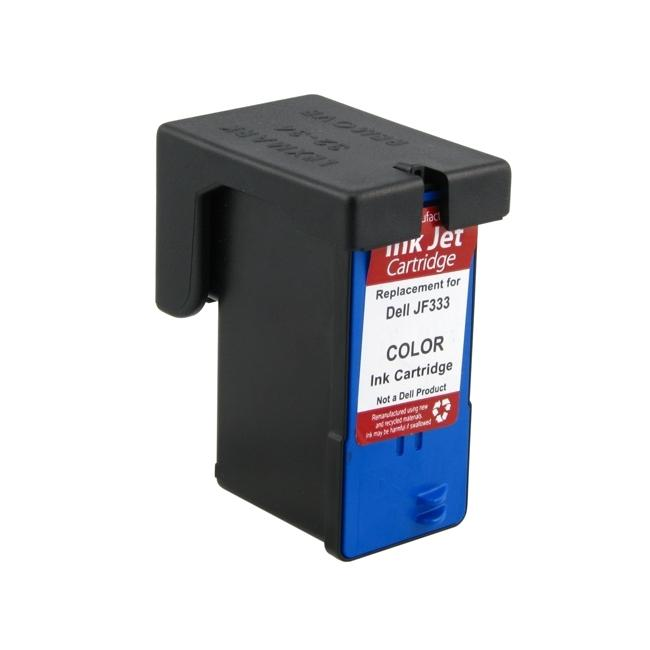 Dell JF333 Color Ink Cartridge (Remanufactured)