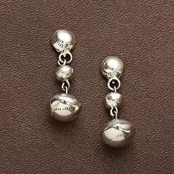 Peyote Bird Designs Sterling Bead Drop Earrings (USA)
