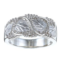 Black Hills Silver Men's Leaf Ring