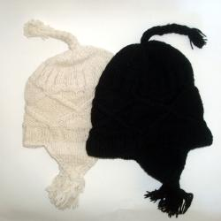 Cotton and Wool Ear Flap Hat (Nepal)