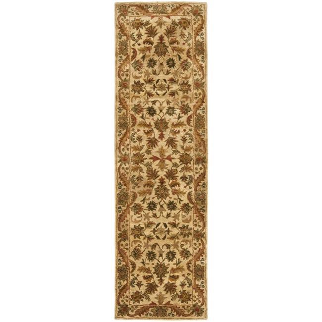 Safavieh Handmade Heritage Ivory Wool Runner (2'3 x 12')