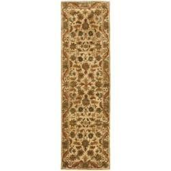 Handmade Heritage Ivory Wool Runner (2'3 x 12')
