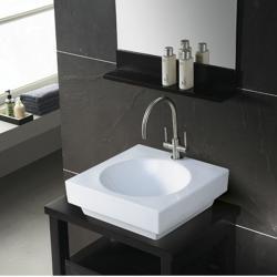 'Beverly Hills' White Bathroom Sink