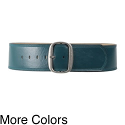 Journee Collection Women's Leather Belt