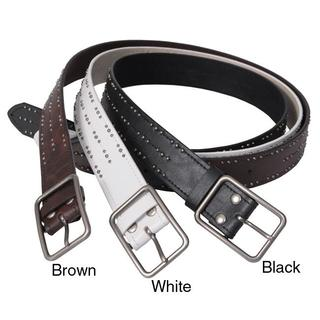 Journee Collection Women's Studded Casual Belt
