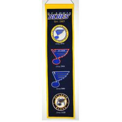 St. Louis Blues Wool Heritage Banner