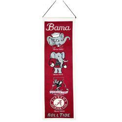 Alabama Crimson Tide Wool Heritage Banner