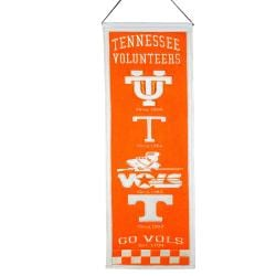 Tennessee Volunteers Wool Heritage Banner