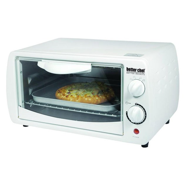 Better Chef IM-265W White Large Capacity 9-liter Toaster Oven