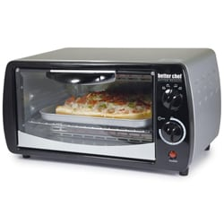 Better Chef IM-267S Silver 9-liter Toaster Oven