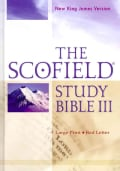 The Scofield Study Bible: New King James Version, Red Letter (Hardcover)
