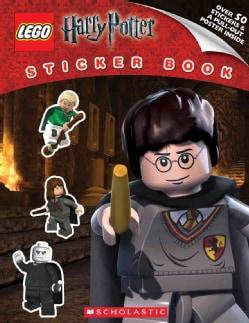 Lego Harry Potter Sticker Book (Paperback)