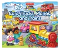 Cars, Trucks, Planes and Trains (Board book)