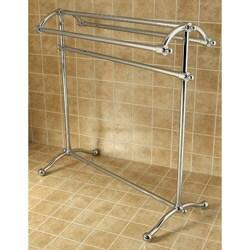 Premium Pedestal Solid Brass Towel Stand