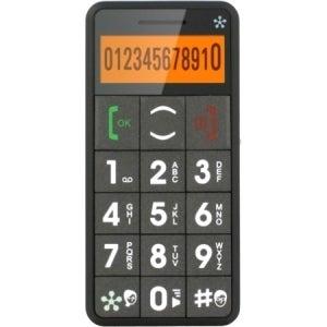 Just5 J509 Cellular Phone - 2G - Bar - Gray