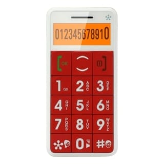 Just5 J509 Cellular Phone - 2G - Bar - Red