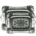 Aramco Silverplated Stainless Steel Serving Trays (Set of 2)