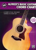 Alfred's Basic Guitar Chord Chart: A Chart of All the Basic Chords in Every Key (Wallchart)