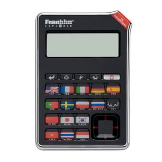 Franklin EST-4016 16-Language SPEAKING Global Phrasebook Translator