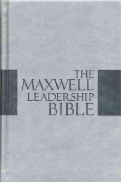 The Maxwell Leadership Bible: New King James Version, Dove Gray Leathersoft, Study (Hardcover)