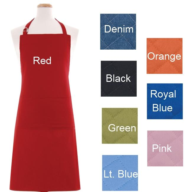 Heavyweight Twill Weave Solid Apron