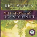Meditations on the Purpose Driven Life (Hardcover)