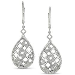 Sterling Silver 1/4ct TDW Diamond Earrings (G-H, I2-I3)