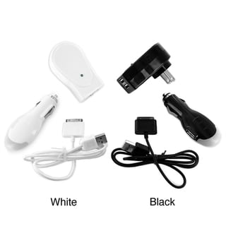 iConcepts Certified Home and Car Charger Kit for iPad, iPhone, and iPod