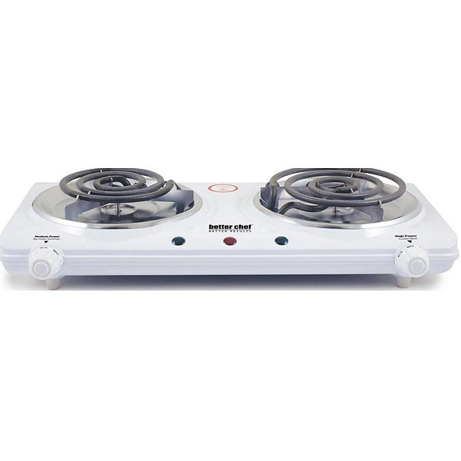 Countertop Stove Burners : Better Chef Dual-element Electric Countertop Range - 13291709 ...