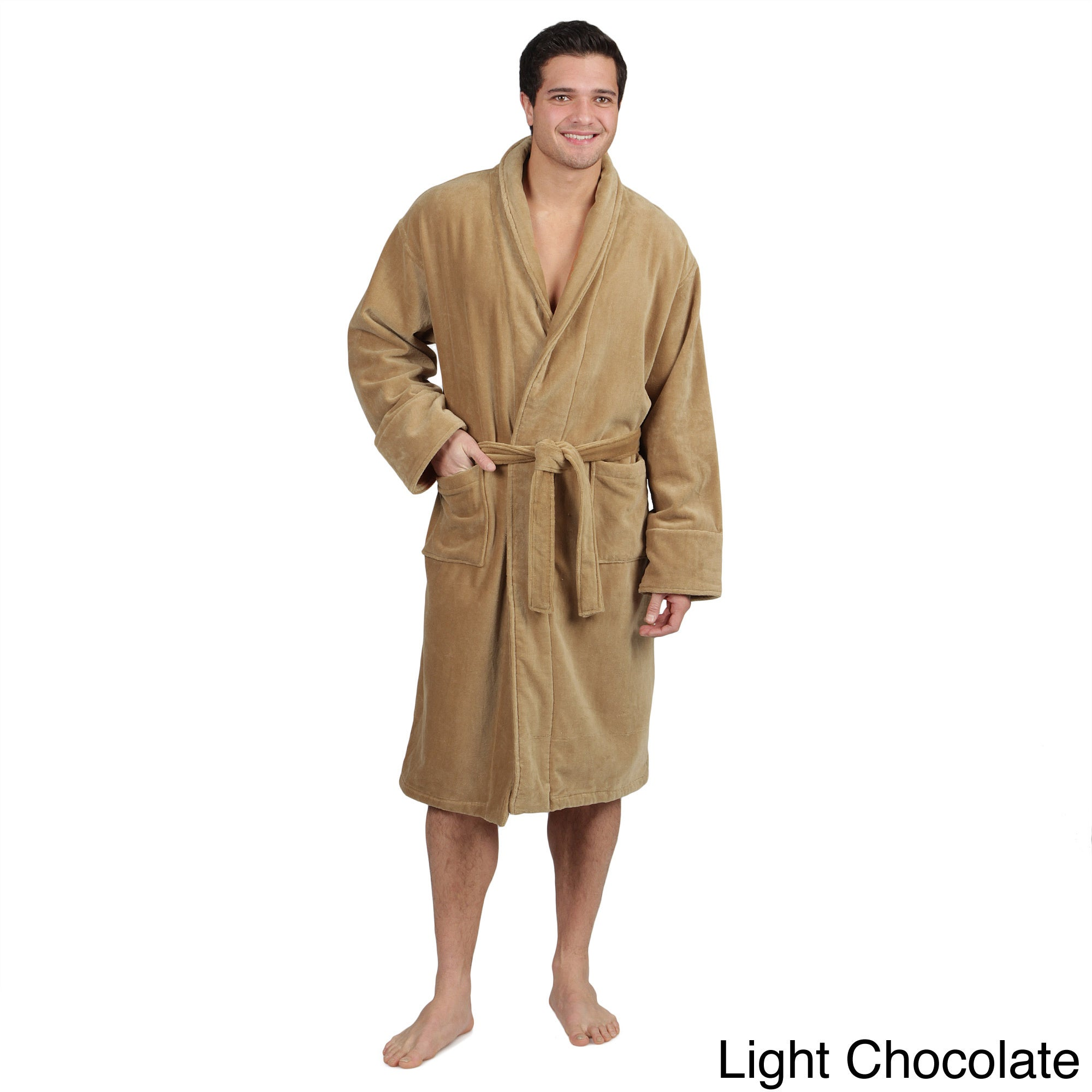 Courtney & Brooks Terry Cloth Bath Robe - Cotton (For Men and
