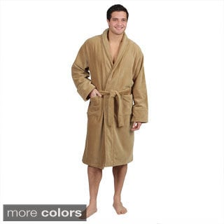 TowelSelections Bamboo Terry Bathrobe - Luxury Terry Cloth Robe for Women and Men, Rayon from