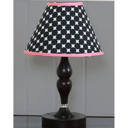 Black and White Flower Lamp Shade
