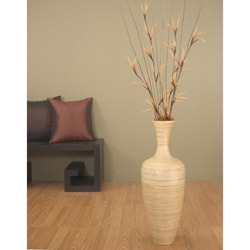 Pin Modern Bamboo Floor Vase Chocolate on Pinterest