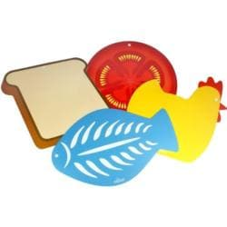 Flexible 4-piece Diecust Design Cutting Board Set