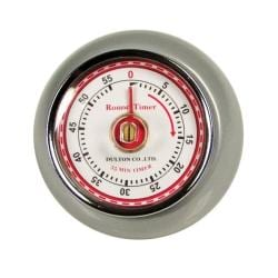 Retro Silver Kitchen Timer