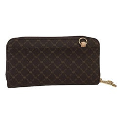 Rioni Women's ST-W020 Canvas Bi-fold Wallet