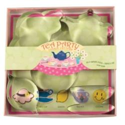 Tea Party Cookie Cutter 5-piece Set