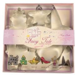 Fairy Tale Cookie Cutter 6-piece Set