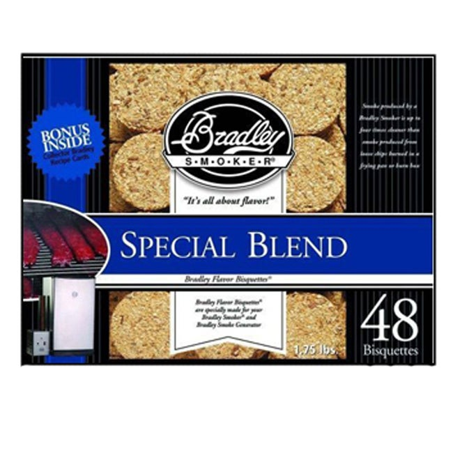 Bradley Smoker Special Blend Bisquettes (Case of 48)