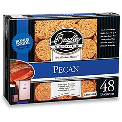 Bradley Smoker Pecan Bisquettes (Case of 48)