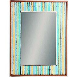 Woodstriped Beauty Mirror (Thailand)