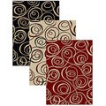 Virginia Ribbon Abstract Rug (3'3 x 4'11)