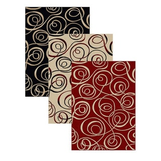 Admire Home Living Virginia Ribbon Area Rug (5'5 x 7'7)
