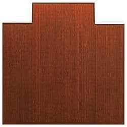 Eco Bamboo Supreme Cherry Chair Mat (47' x 51')