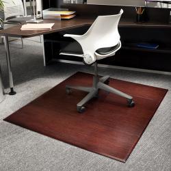 Eco Bamboo Supreme Rectangular Cherry Chair Mat (60 x 47)