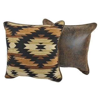 Aztec Brown Decorative Pillows (Set of 2)