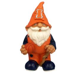 Illinois Fighting Illini 8-inch Mini Gnome