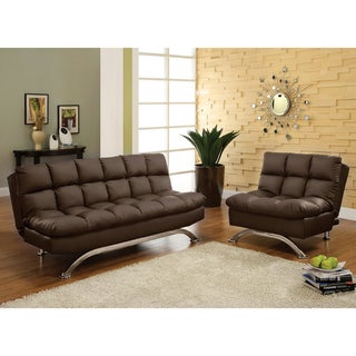 Deep Cushion 2-piece Sofa/ Sofabed and Chair