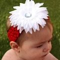 Headbandz Christmas Daisy with Headband